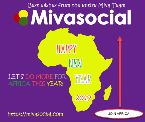 Happy new year 2017 Africa from Mivasocial