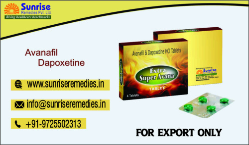 Avanafil and Dapoxetine Products