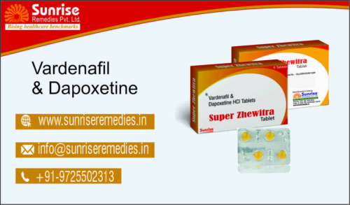 Super Zhewitra Generic Verdenafil And Dapoxetine Products