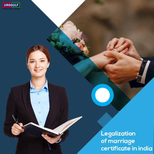 Legalization of Marriage Certificate in India