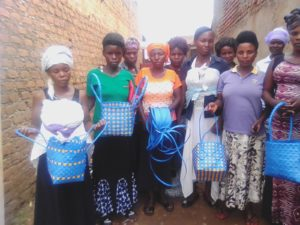 UPLIFT WOMEN BASKET MAKING