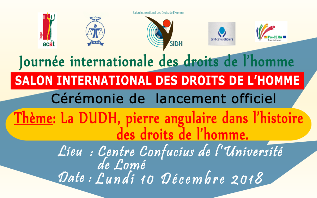 SALON INTERNATIONAL DES DROITS DE L'HOMME