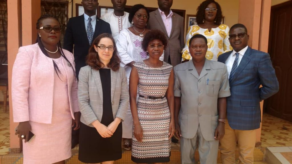 Collaboration institutionnelle : visite de l'Attachée Politique de l'Ambassade des USA au Togo à la CNDH