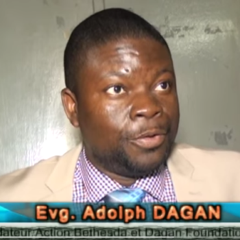 Adolph A Dagan : Dagan Foundation's News Conference in June 2016 in Lomé , Togo