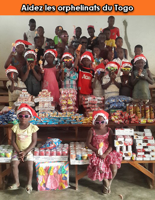 Help the orphanages of Togo