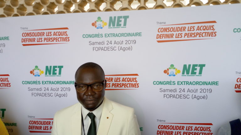 Le NET candidate Gerry Taama pour 2020.