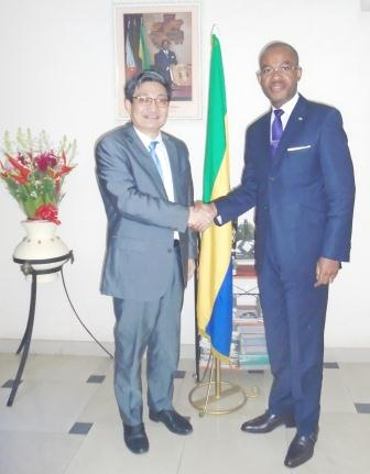 AUDIENCE AVEC SON EXCELLENCE MONSIEUR L'AMBASSADEUR DE CHINE AU TOGO