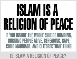 is islam a religion of peace