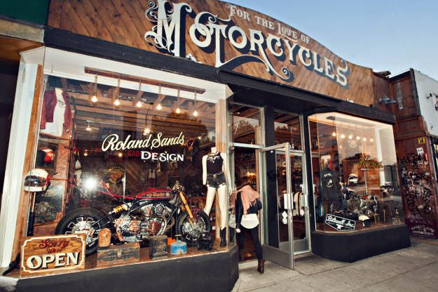 Motorcycle Shops